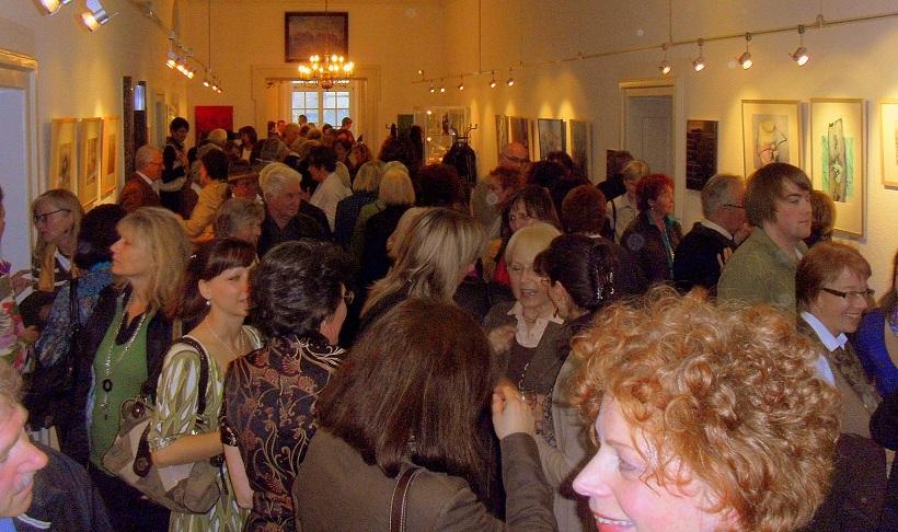 Indigo Ausstellung, März 2010